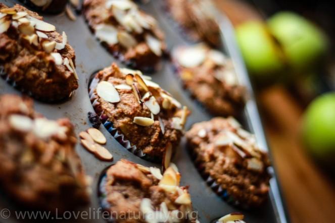 paleo Apple cinnamon Breakfast muffin