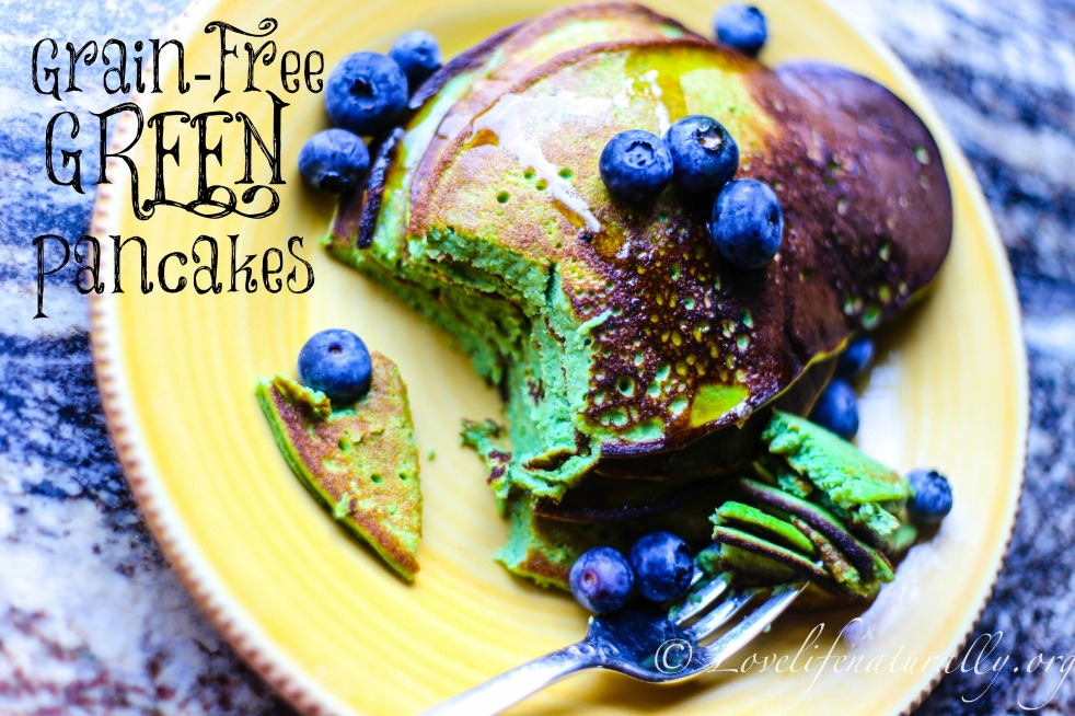 Grain-Free Healthy Green Pancakes