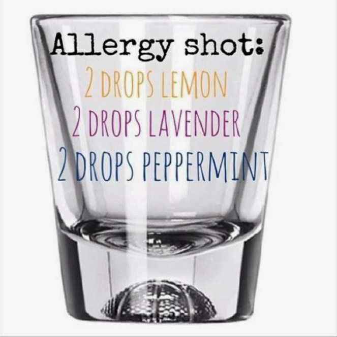 essential oils for seasonal allergies