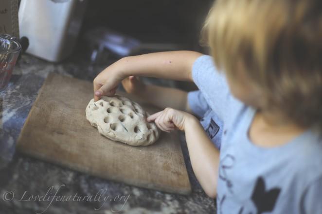 natural herbal play dough