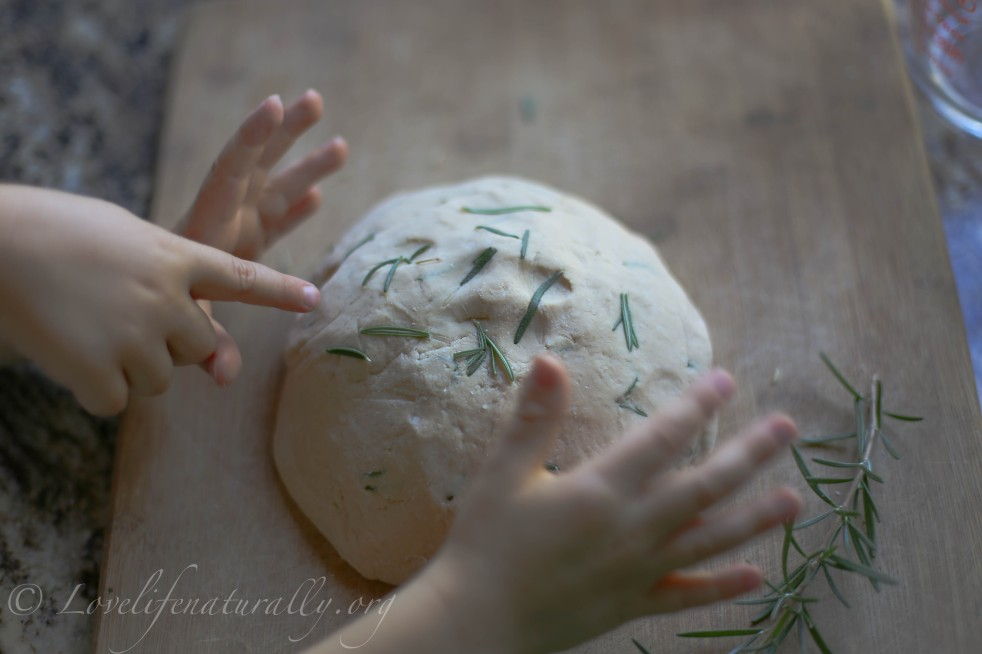 natural herbal play dough