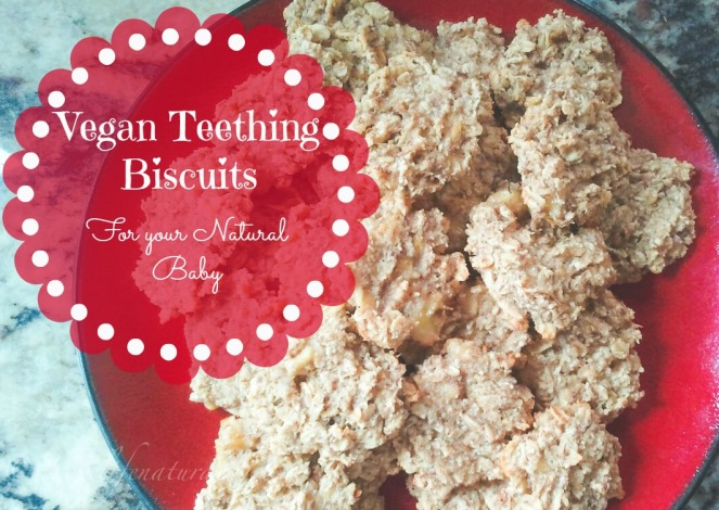 Vegan Teething Biscuits