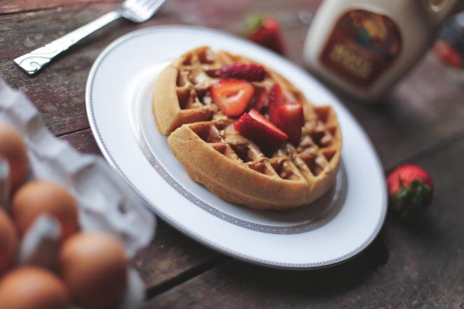 Crispy Paleo Waffles